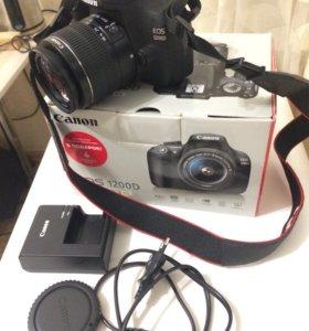 Canon 1200d с обьективом идеал