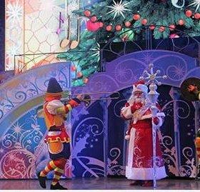 Новогоднее путешествие в страну сказок Пушкина