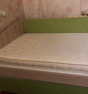 кровать с матрасом 🛏 80x200