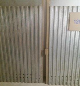 Ворота гаражные б/у