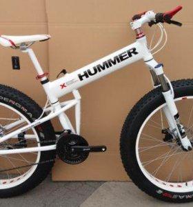 Новый фэтбайк Hummer White + аксессуары