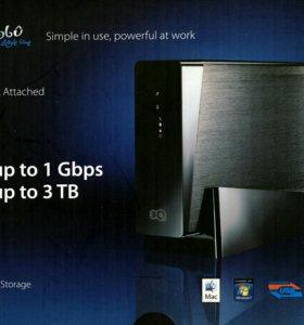Сетевой накопитель NAS 3 Tb LAN USB 3.0 Нов.