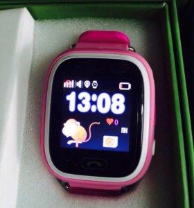 Детские умные часы Smart baby watch Q80.