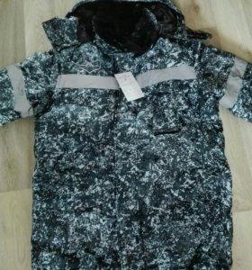 Новая зимняя одежда для рыбаков и охотников