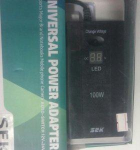 Универсальное зарядное устройство для ноутбуков/б3
