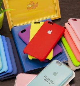 Чехол на iPhone Silicone Case