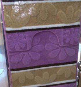 Набор коврик из микрофибры для ванной комнаты