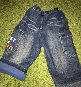 Тёплые штанишки для мальчика