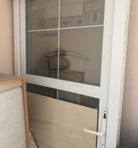 Новая дверь Rehau