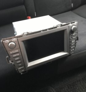 Магнитола штатная Toyota Prius ZVW-30