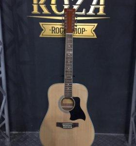 Новая 12 струнная гитара Homage