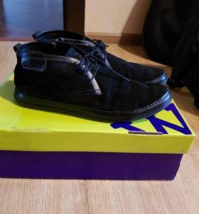 Ботинки замшевые мужские