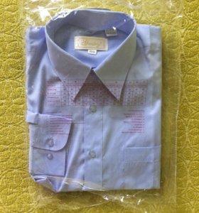 Новая рубашка мужская с длинным рукавом