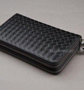стильный кожанный бумажник