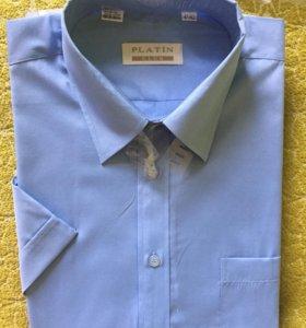 Новая мужская рубашка с коротким рукавом