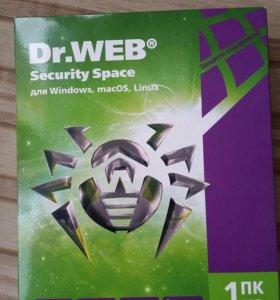 Антивирус Dr.Web на 1 год