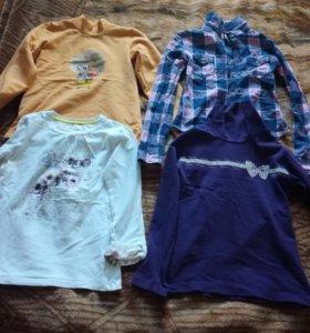Вещи для девочки 7-8 лет