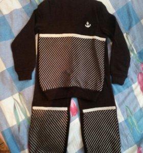 Свитер+штанишки ( костюм ) шерстяной