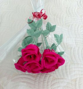 Букет из конфет (Голландская роза)