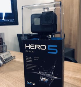 Камера GoPro Hero 5: Black Edition + 64 GB карта