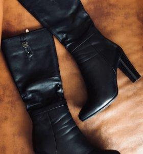 Кожаные сапоги (еврозима)