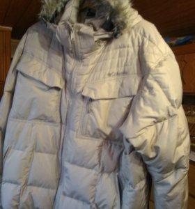 Куртка зимняя пуховик 54-56