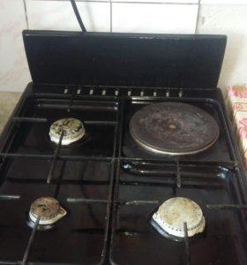 Газовая и электро плита