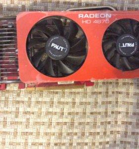 Видеокарта Radeon hd 4870