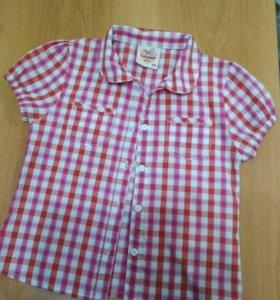 Рубашка для девочки на рост 104