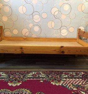 Детская кроватка 3+