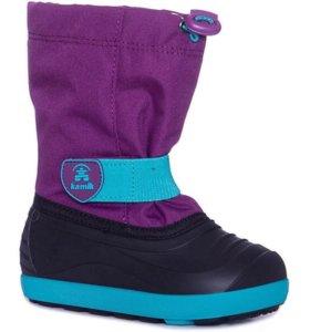 Сноубутсы Kamik JET для девочки - фиолетовый