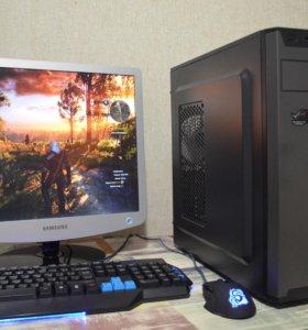 Мощный игровой I5/4-ядра/8Gb/GTX970 4Gb + монитор