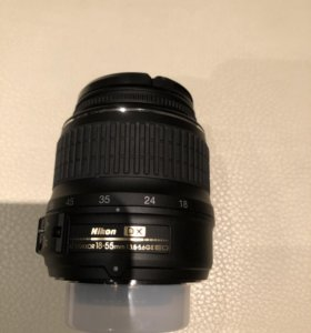 Объектив + зу для фотоаппарата Nikon