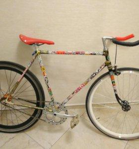 Велосипед ручной сборки