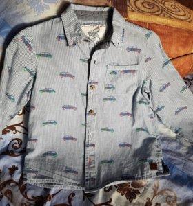 Рубашка 3-4 года