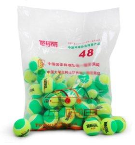 Детские теннисные мячи teloon mid 48