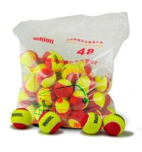 Теннисные детские мячи teloon 48 red