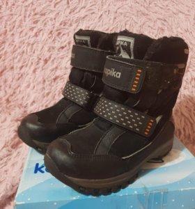Зимние ботинки для мальчика Kapika