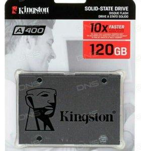 Новый SSD диск Kingston 120 GB