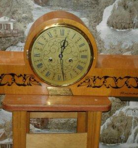 Часы из СССР(янтарь)