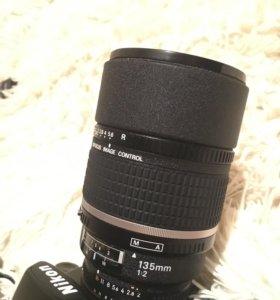 Объектив Nikon 135mm
