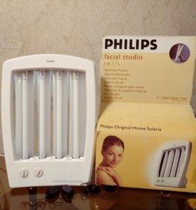 Солярий домашний Philips для лица, рук и декольте
