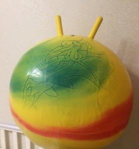 Мяч для массажа ( фитбол)
