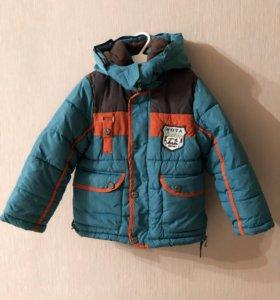 Куртка зимняя 98