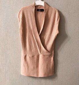 Песочный топ/свитер marchelas