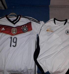 Футболки Сборной Германии 2014 FIFA 19