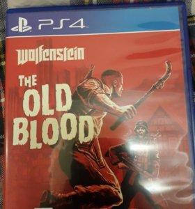 Wolfenstein the old blood для PS4