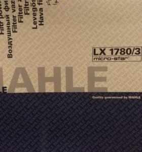 Воздушный фильтр LX 1780/3, MAHLE Original