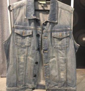 Джинсовая жилетка adidas