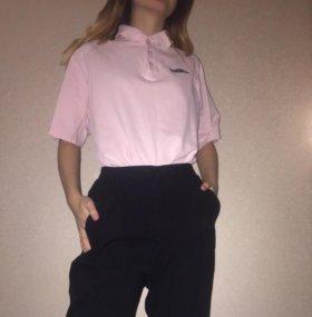 Розовое поло umbro